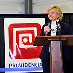 NC Governor Bev Perdue, at ribbon cutting and expansion announcment of Providencia USA near Statesville, NC 01/2011