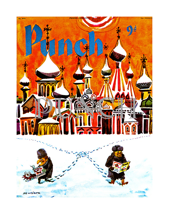 Punch cover 16 December 1959