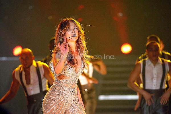 Jennifer Lopez performance at Boardwalk Hall in Atlantic City, New Jersey on July 29, 2012  © Star Shooter / MediaPunchInc