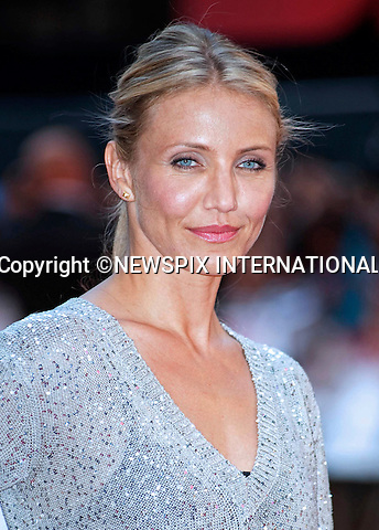 """CAMERON DIAZ.Attend the UK premiere of Knight and Day, London_England_22/07/2010..Mandatory Photo Credit: ©Dias/Newspix International..**ALL FEES PAYABLE TO: """"NEWSPIX INTERNATIONAL""""**..PHOTO CREDIT MANDATORY!!: NEWSPIX INTERNATIONAL(Failure to credit will incur a surcharge of 100% of reproduction fees)..IMMEDIATE CONFIRMATION OF USAGE REQUIRED:.Newspix International, 31 Chinnery Hill, Bishop's Stortford, ENGLAND CM23 3PS.Tel:+441279 324672  ; Fax: +441279656877.Mobile:  0777568 1153.e-mail: info@newspixinternational.co.uk"""