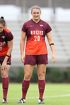 04 October 2015: Virginia Tech's Murielle Tiernan. The Duke University Blue Devils hosted the Virginia Tech Hokies at Koskinen Stadium in Durham, North Carolina in a 2015 NCAA Division I Women's Soccer match. Virginia Tech won the game 4-2.