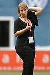 13 June 2009: Chicago head coach Emma Hayes (ENG). The Washington Freedom and the Chicago Red Stars played to a 0-0 tie at the RFK Stadium in Washington, DC in a regular season Women's Professional Soccer game.