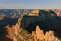 VIEW FROM CAPE ROYAL, NORTH RIM, GRAND CANYON, ARIZONA