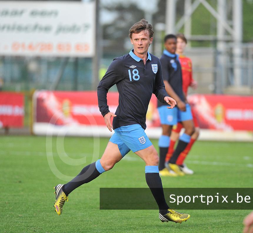 Belgium U19 - England U19 : John Swift.foto DAVID CATRY / Nikonpro.be