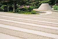 Ginkakuji Silver Pavillion garden photos