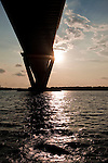 Arthur Ravenel Jr Bridge in Charleston South Carolina over the Cooper River