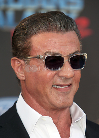 """HOLLYWOOD, CA - April 19: Sylvester Stallone, At Premiere Of Disney And Marvel's """"Guardians Of The Galaxy Vol. 2"""" At The Dolby Theatre  In California on April 19, 2017. Credit: FS/MediaPunch"""