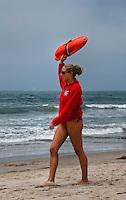 Santa Monica LA, Lifeguard Stations,  Color exhibit