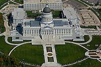 aerial photograph Utah State Capitol building, Salt Lake City, Utah