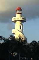 El Faro lighthouse in Playa del Carmen, Quintana Roo, Mexico