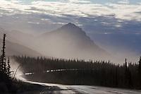 Mount Dillon of the Brooks range mountains, James Dalton Highway, or Haul Road, arctic Alaska.