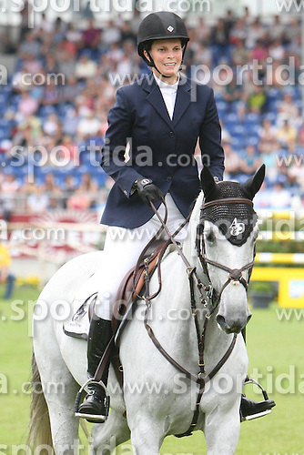05.07.2012, Stadion, Aachen, GER, Chio, Aachen, im Bild Athina Onassis de Miranda (GRE) in Action im Pacour der Aachener Soers auf Ihrem Pferd Ad Uceline // during the Chio Aachen, World Equestrian Festival, at the Stadium, Aachen, Germany on 2012/07/05. EXPA Pictures © 2012, PhotoCredit: EXPA/ Eibner/ RRATTENTION - OUT OF GER *****