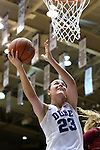 14 December 2015: Duke's Rebecca Greenwell. The Duke University Blue Devils hosted the University of Massachusetts Minutewomen at Cameron Indoor Stadium in Durham, North Carolina in a 2015-16 NCAA Division I Women's Basketball game. Duke won the game 70-46.