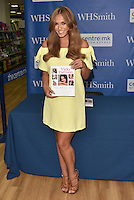"Vicky Pattison, Geordie Shore star signed copies of her new book ""The Real Me: Fashion, Fitness and Food Tips for Real Women – From Me to You"", a 'fully illustrated guide to all things Vicky', which includes advice on style and health. WHSmith, Milton Keynes, England on July 26, 2016. Credit Loftus/Capital/MediaPunch"