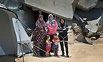 Women and children in Gaza stand beside their tent and in front of the rubble of their home, which was destroyed by Israeli bombing in 2014. Many families in this neighborhood received cash assistance from DanChurchAid, a member of the ACT Alliance, for immediate needs when they emerged from shelters and returned to the rubble of their homes at the end of the war. ACT Alliance members are supporting health care, vocational training, rehabilitation of housing and water systems, psycho-social care, and other humanitarian actions throughout the besieged territory.
