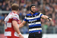 Luke Charteris of Bath Rugby. Aviva Premiership match, between Bath Rugby and Gloucester Rugby on April 30, 2017 at the Recreation Ground in Bath, England. Photo by: Patrick Khachfe / Onside Images