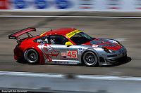 Flying Lizard Motorsports entered a pair of Porsche 997s at Sebring in 2009, with the #45 entry of Jörg Bergmeister, Patrick Long and Marc Lieb finishing 11th and the companion car of Seth Neiman,  Darren Law and Johannes van Overbeek in 12th.