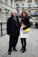 Colin McDowell and Natalie Massenet