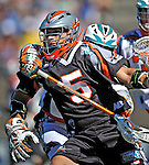 23 August 2008: Denver Outlaws' Midfielder Casey Cittadino in action against the Los Angeles Riptide during the Semi-Finals of the Major League Lacrosse Championship Weekend at Harvard Stadium in Boston, MA. The Outlaws edged out the Riptide 13-12, advancing to the upcoming Championship Game.. .Mandatory Photo Credit: Ed Wolfstein Photo