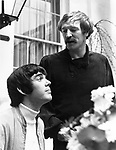 "Richard Harris and Jimmy Webb 1968 in London at time of ""Macarthur Park"""