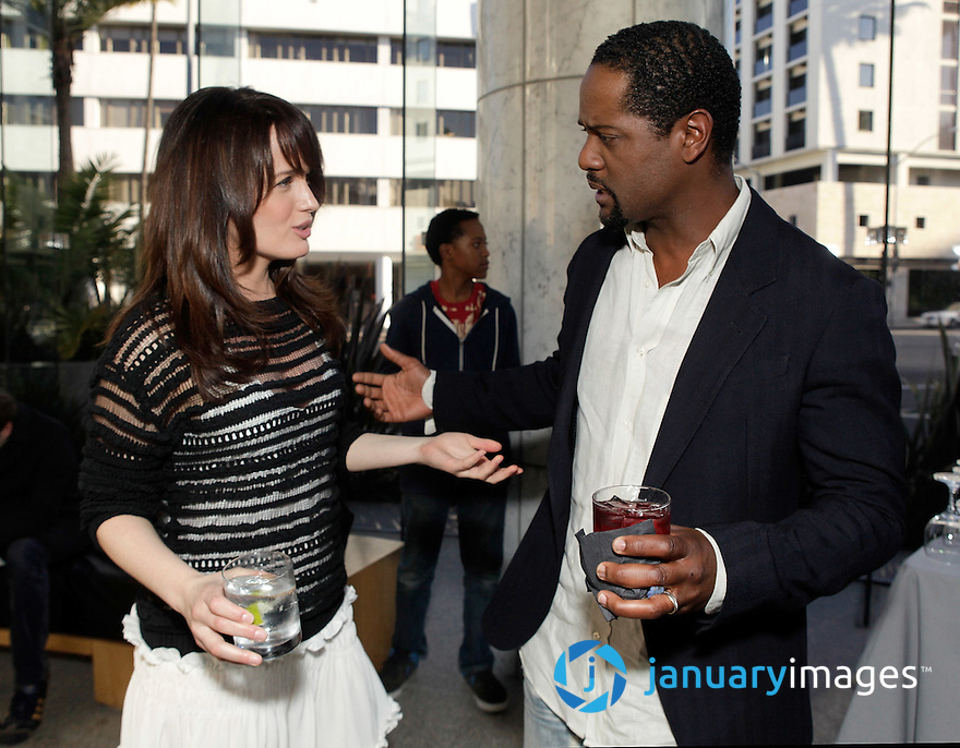 "BEVERLY HILLS, CA - JUNE 06:  Elizabeth Reaser and Blair Underwood attend a Fox Searchlight screening Of ""The Art Of Getting By"" at Clarity Theater on June 6, 2011 in Beverly Hills, California.  (Photo by Todd Williamson/WireImage)"