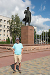 St Johnstone v FC Minsk...01.08.13 Europa League Qualifier at Neman Stadium, Grodno, Belarus...<br /> Gordon Bannerman in Grodno<br /> Picture by Graeme Hart.<br /> Copyright Perthshire Picture Agency<br /> Tel: 01738 623350  Mobile: 07990 594431