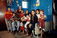 March 8th, 1982, Lebanon: in Ain Elhelweh, the family of Kamel Ahmed Alhaj, born in Acre, north of Palestine, with 9 of his 11 children. He is selling vegetables in the city of Sidon.