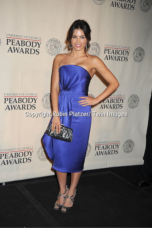 Jenna Dewan Tatum winners for &quot;Earth Made of Glass&quot; attends the 71st Annual Peabody Awards at the Waldorf Astoria Hotel in New York City on May 21, 2012.