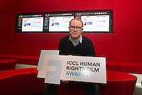 ***NO FEE PIC *** 05/06/2014 Jury Member Conor McPherson – Award-winning playwright and screenwriter during the launch of the ICCL (Irish Council for Civil Liberties) Human Rights Film Awards Shortlist at the IFCO in Smith field, Dublin. Photo: Gareth Chaney Collins