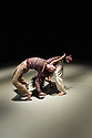 Ipswich, UK. 15.02.2014. Luca Silvestrini's PROTEIN present BORDER TALES at Dance East, Jerwood DanceHouse. Picture shows:  Stuart Waters and Salah el Brogy. Photograph © Jane Hobson.