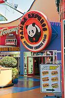 Panda Express, Universal City, California, City Walk, Citywalk, Universal studios, holiday,  travel, us, usa, vacation,
