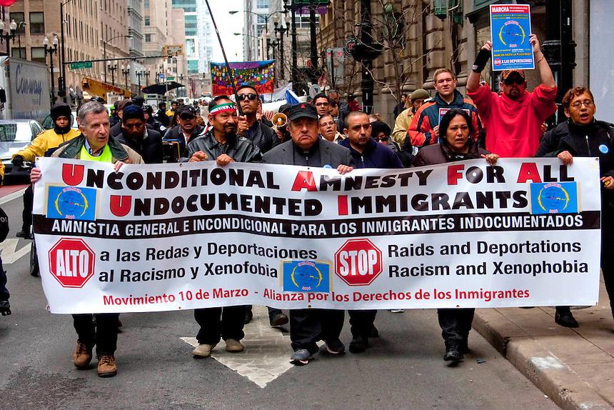 Anti-Deportation Rally Chicago Illinois 3-10-2016