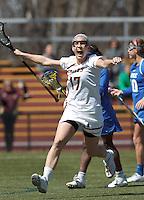 Boston College Women's LAX vs. Duke University, April 6, 2013