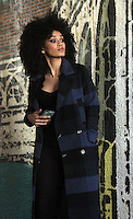 NEW YORK, NY November 04: Pearl Thusi shooting on location for ABC series Quantico in Queen New York .November 04, 2016. Credit:RW/MediaPunch