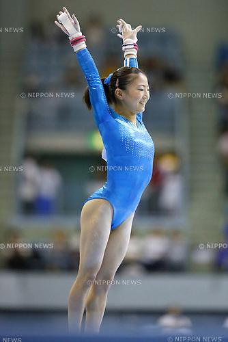 Asuka Teramoto, JULY 6, 2014 - Artistic Gymnastics : The 68th All Japan Artistic Gymnastics Apparatus Championship, Women's Uneven Bars Final at Chiba Port Arena, Chiba, Japan. (Photo by Yusuke Nakanishi/AFLO SPORT)
