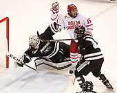 Hayden Hawkey (PC - 31), Nick Roberto (BU - 15), Spencer Young (PC - 21) - The Boston University Terriers tied the visiting Providence College Friars 2-2 on Saturday, December 3, 2016, at Agganis Arena in Boston, Massachusetts.