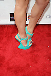 Singer Krystal LaVenne Attends Edwing D'Angelo Spring Summer 2014 Presentation Held at Studio 450, NY