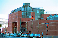 Los Angeles: Museum of Contemporary Art. 1984-86. Arata Isozaki.  Photo  '88.