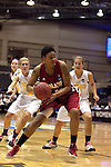 23 MAR 2012: Crystal Harris (30) of Shaw drives to the basket during the Division II Womens Basketball Championship held at Bill Greehey Arena in San Antonio, TX.  Shaw University defeated Ashland University 88-82 for the national title.  Rodolfo Gonzalez/ NCAA Photos
