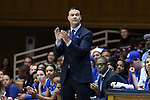 21 December 2014: Kentucky head coach Matthew Mitchell. The Duke University Blue Devils hosted the University of Kentucky Wildcats at Cameron Indoor Stadium in Durham, North Carolina in a 2014-15 NCAA Division I Women's Basketball game. Duke won the game 89-68.
