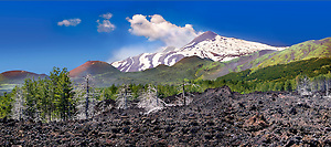 Picture of Mount Etna Sicily