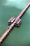 An aerial of the Naples Pier. Erik Kellar