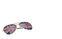Union Jack Aviator Sunglasses - Jan 2013.