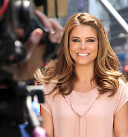 June 11, 2012: Maria Menounos on the set of tv's Extra in New York City. © RW/MediaPunch Inc.