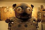 Hombre Obeso sculpture from the Maya ruins of Kaminaljuyu, Popul Vuh Museum, Gautemala City
