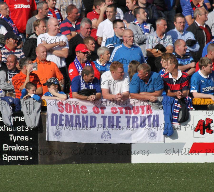 Alloa Athletic v Rangers 200914
