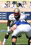 14 October 2006: Florida State's Buster Davis (7). The Florida State University Seminoles defeated the Duke University Blue Devils 51-24 at Wallace Wade Stadium in Durham, North Carolina in an Atlantic Coast Conference NCAA Division I College Football game.