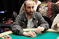 28 February 2009: Pro player Barry Greenstein during the 7th Annual WPT World Poker Tour Invitational at the Commerce Casino in Los Angeles, CA. Players compete for poker glory and a  piece of the $200,000 prize pool. Celebrity and Pro card players in action.