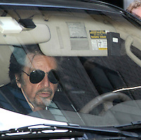 Pacino at Late Show