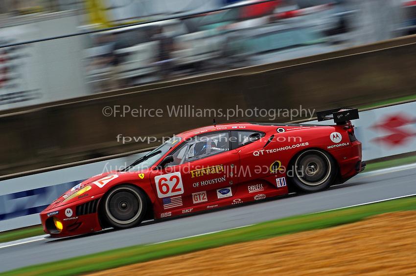 #62 Risi Competizione Ferrari F430 GT of Jaime Melo, Mila Salo & Pierre Kaffer